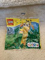 LEGO #40077 TOYS R US GEOFFREY GIRAFFE RARE RETIRED NEW LA009
