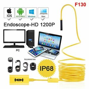 5M 10M USB Endoscope Borescope Snake Inspection Camera WIFI Android Mobile Phone