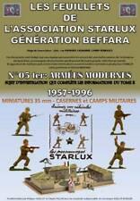 STARLUX feuillet 05ter ARMÉES MODERNES 96 pages miniatures bâtiments militaires