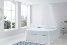 White Mosquito Net Gorgeous Classic Resort Style Bedroom Canopy -  Fits all Beds