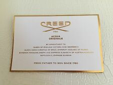 Authentic NEW CREED PARIS IRIS TUBEREUSE Fragrance Eau de Pafum Sample 0.07oz