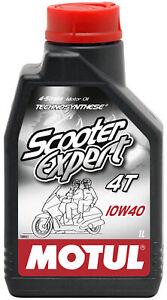 Motul Scooter Expert 10w40 4T Semi Synthetic 1 Litre