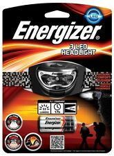 Energizer 3 LED Headlight Headtorch 632648 BRAND NEW UK FREEPOST NIGHT HEADLAMP