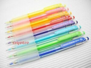 8 Colors Set x Pilot HCR-12R 0.7mm Color Eno Mechanical Pencils, Made in Japan