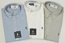 New Polo Ralph Lauren Men's Classic Fit Cotton Dress Shirt