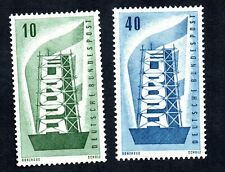 Germany 1956 #748-749 Mint Never Hinged