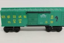 VINTAGE K-LINE TRAINS- 5188- SUSQUEHANNA 1994 SPRING MEET BOXCAR- 0/027 NEW- M11