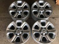 """17"""" Toyota 4Runner OEM Silver Wheels Set of 4 Brand New"""