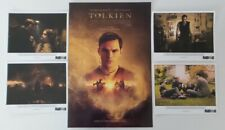 WonderCon 2019 handout Tolkien movie promo poster & 4 prints