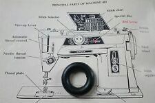 SINGER Sewing Machine 401k BOBINA AVVOLGITORE IN GOMMA