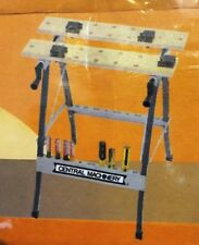 """Central Machinery Foldable Workbench w Vise New in Box w Built in 24"""" Ruler Nib"""