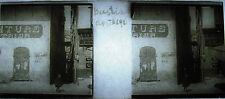 Placa foto estereoscópica fotografía Basti abril 1911 Córcega Corsica