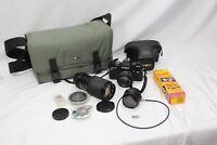 Minolta X-700  50 mm 75-205 mm28 mm Kodak Film Camera Case & Bag