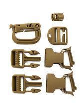 New USMC Pack Buckle Repair Kit for FILBE Main Rucksack - Coyote brown