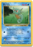 Pokemon Card 3rd Print Horsea 1999-2000 Fossil Set 49/62, Pack Fresh NM/M