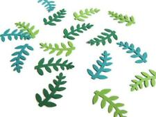 Leaf Confetti. Green Leaf Party Decorations. Fall Party Decorations.