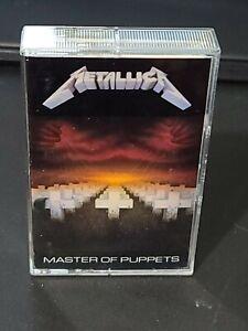 Metallica Master Of Puppets Cassette Tape 1986 Elektra 9 60439-4 James Hetfield