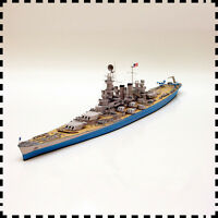 1:400 Scale USS North Carolina-class Battleship DIY Handcraft Paper Model Kit