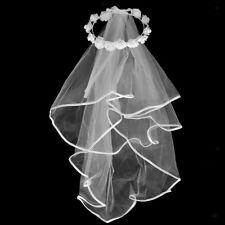 addio al nubilato velo - boho corona di fiori velo da sposa sposa per essere