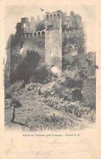 Ruinas de CHALUSSET cerca de de LIMOGES (Francia)