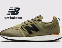 🔥 2019 New Balance 247 ® ( Men Size UK 6 8.5 10 11 ) Olive Khaki Mesh MRL247IY