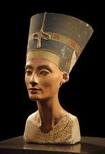 Lámina-Nefertiti, Royal esposa del faraón egipcio akhenaten (imagen Arte)