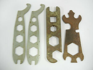 LOT OF 4 VINTAGE BICYCLE MULTI TOOL WRENCHES MAYTAG G791