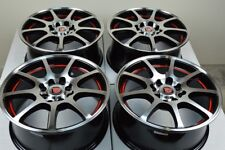 15 Wheels Integra Vigor Aveo Yaris Civic Accord Corolla Miata 4x100 4x114.3 Rims