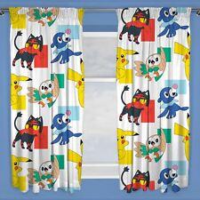UFFICIALE POKEMON CRUSCOTTI Readymade COPPIAS di tende bambini 183cm GOCCIA