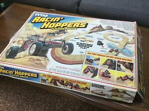 80's Tyco Turbo Hoppers Slot Car Racing Set Vintage
