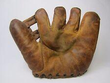 """Vintage 1940 Wilson 635  H-Web """"Streamline"""" Fielder's Glove Good+ Condition!"""