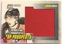 2009-10 ITG Heroes & Prospects Jumbo Jersey Silver Jordan Eberle Vault Pink 1/1
