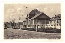 AK, Darmstadt, Hauptbahnhof, Straßenbahn, 1913