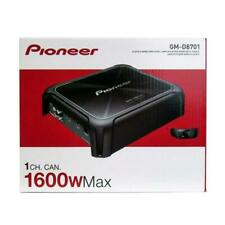 Pioneer GM-D8701 Class-D Monoblock Car Amplifier with Bass Boost Remote