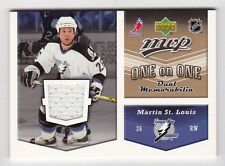 2006-07 NHL Upper Deck MVP Jerseys # OJ-SH St. Louis and Horton One on One Dual