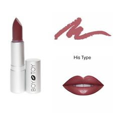 ALL NATURAL ORGANIC LIPSTICK - BOY TOY COSMETICS - 'HIS TYPE' nude pink lipstick