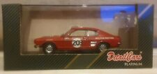 Detail Cars Platinum 1/43 Art 306 Ford Capri 3000 GT 1972 Coupe Silverstone BNIB