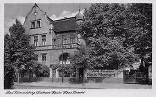 AK Bad Schmiedeberg in der Dübener Heide Hotel-Pension Haus Steinert Postkarte