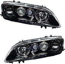 Halogen Headlights (w/Fog Light) Pair Set for 2003 2004 2005 Mazda 6 Sport