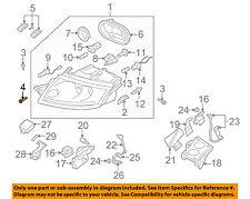 AUDI OEM A6 Quattro Front Bumper Grille Grill-Bumper Cover Upper Bolt N10483102