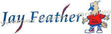 "Jayco ""JAY FEATHER"" Decal Vinyl Rv Trailer Decal Graphic Sticker Logo 43""X13"""