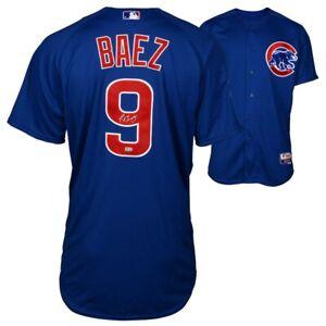 JAVIER BAEZ Autographed Chicago Cubs Blue Authentic Jersey FANATICS