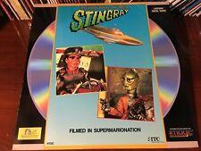 Laserdisc STINGRAY - INVADERS FROM THE DEEP 1981 Filmed Supermarionation Rare LD
