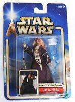 Jar Jar Binks Star Wars Attack of the Clones Action Figure NIP Hasbro NIB SW