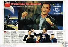Coupure de Presse Clipping 1997 (4 pages) Christophe Dechavanne