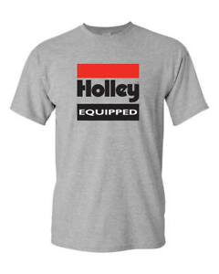 Holley 10022-LGHOL Holley Equipped T-Shirt