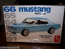 AMT 1966 Mustang Hardtop build custom or stock versions 1/25 Scale 2207