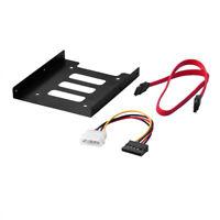 "2,5 ""auf 3,5""-Klammer SSD HDD Adapter+ SATA kabel+ Power Kabel"