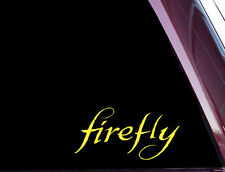 Firefly/ Browncoat / Serenity - Beautiful DIE CUT Decal / Sticker (A-99)