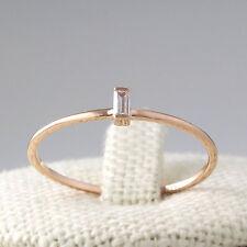 10K Solid gold ring~Diamond Baguette Band~Engagement Ring~Diamond Ring~SJR0661
